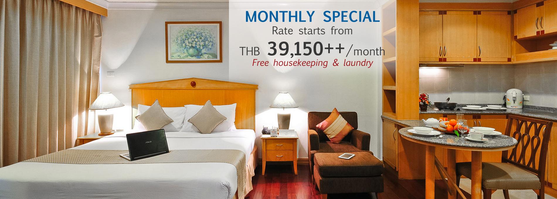 ... Admiral Suites Bangkok Serviced Apartment Hotel In Sukhumvit 22 Near To  Phrom Pong BTS, Emquatier ...